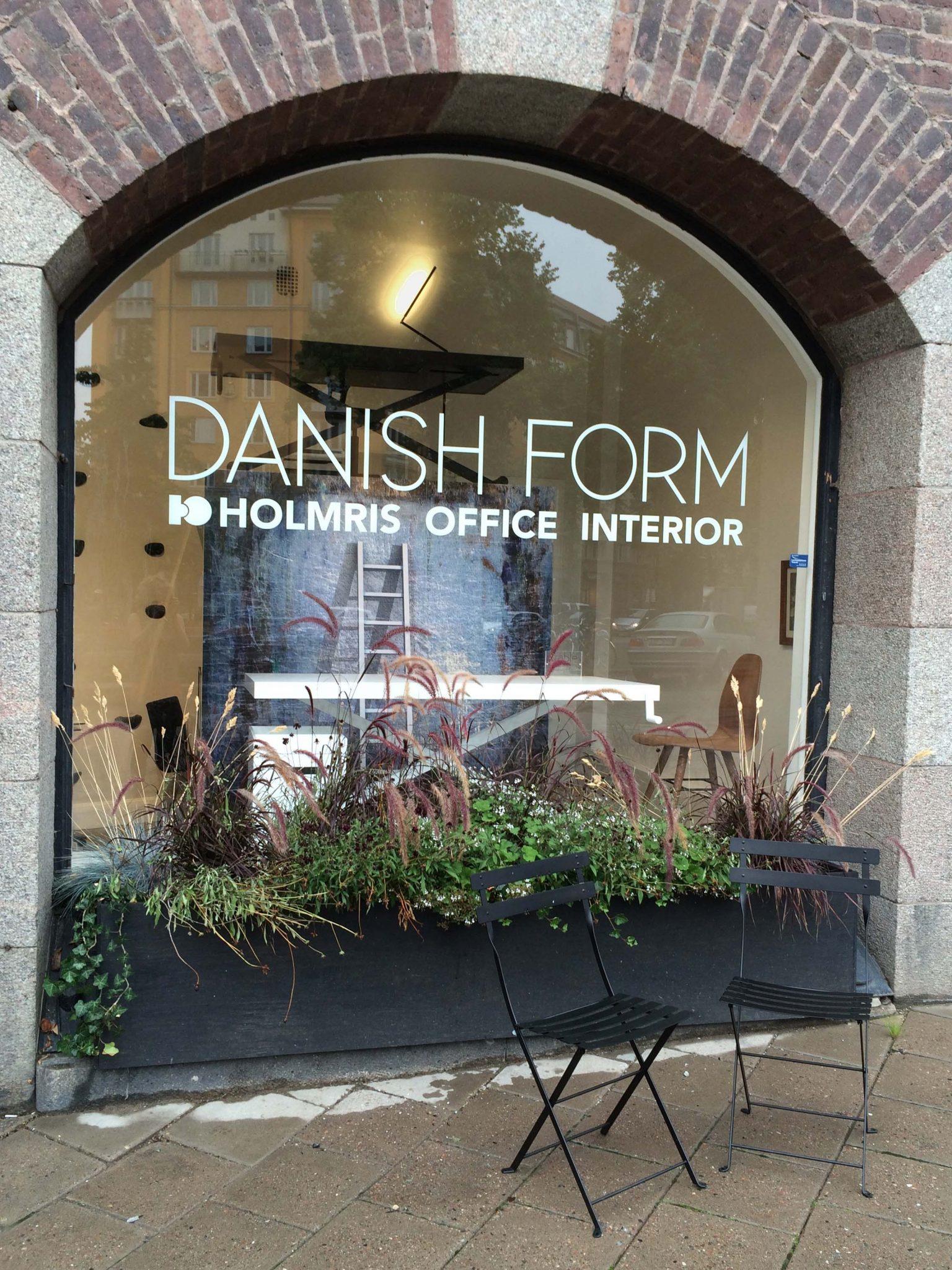Danish Form, danska kontorsmöbler