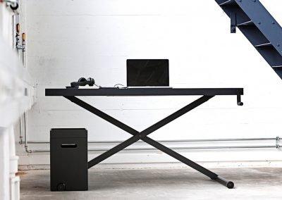 Xtable dansk design skrivbord. Coola kontorsmöbler från Danish Form