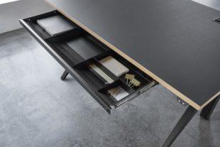 Cabale-hoj-sankbar-dansk-skrivbord-utdragbar-lada