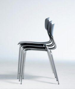 Shark-stol-stabelbar-dansk