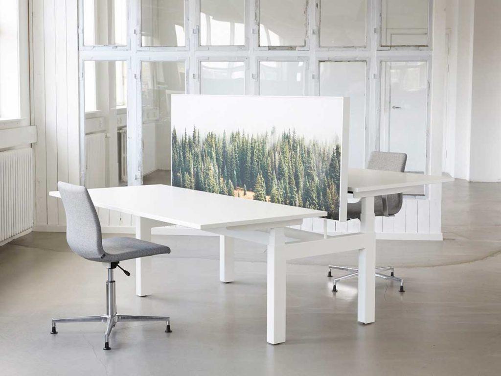 Q40 vacker dansk höj-och sänkbart skrivbord