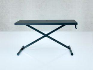 Coolt industriell dansk design. Samrt höj- och sänkbart skrivbord
