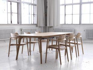 Cool stapelbar trastol i dansk design
